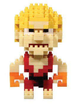 Street Fighter Ken Pixel Bricks Set