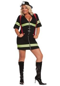 Sexy Firegirl Plus Size Costume Update Main