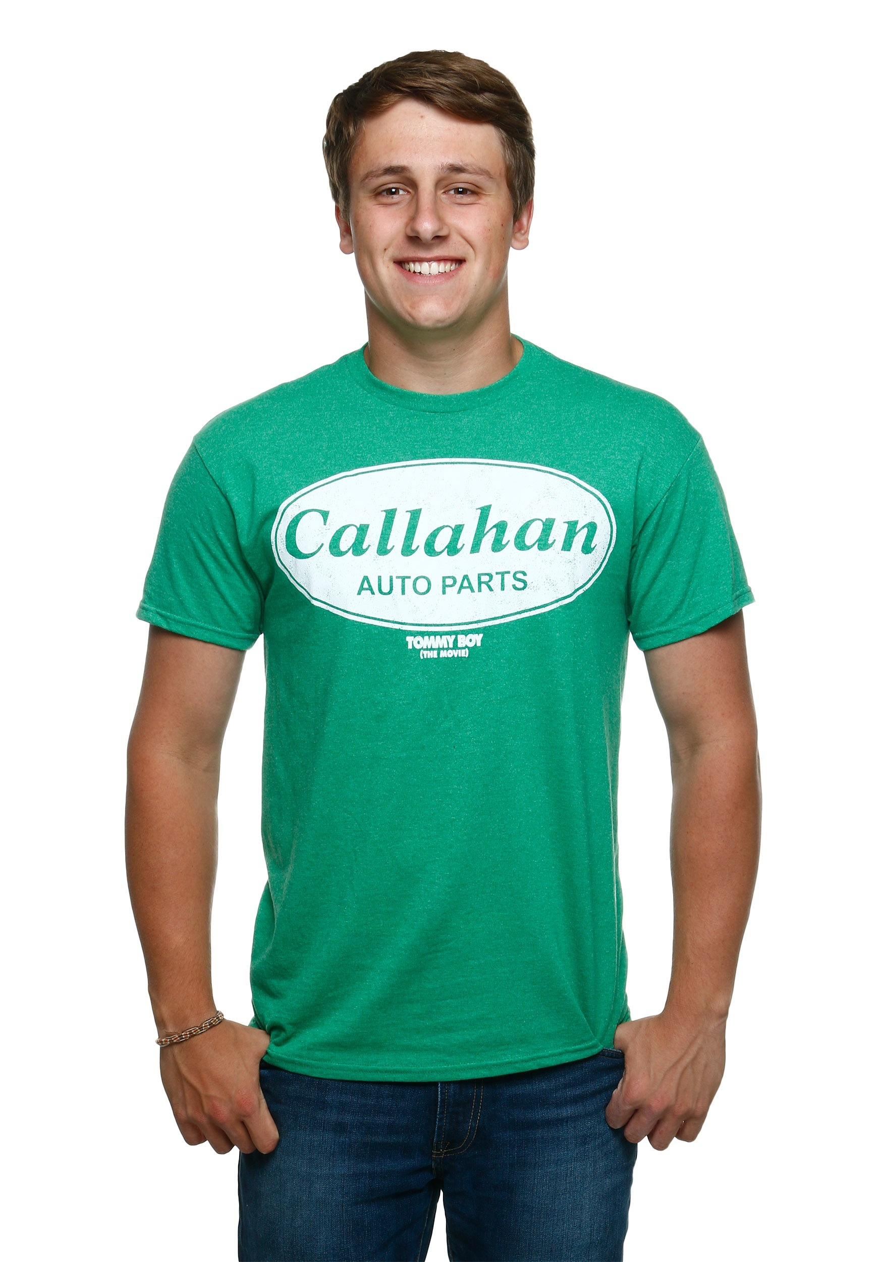 Tommy boy callahan auto t shirt for Warson motors t shirt