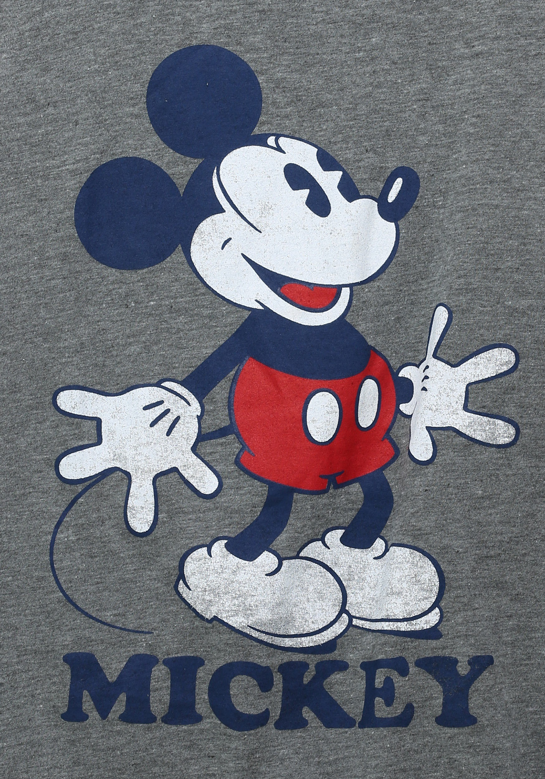 Womens Mickey Mouse Classic Pose Ringer Tank Top