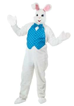 Happy Easter Mascot Bunny Costume