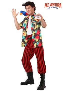 Mens Ace Ventura Costume with Wig Update