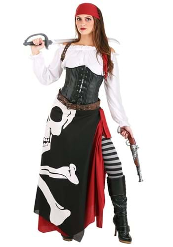 Pirate Flag Fortune Teller Costume for Women update