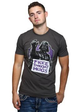 Star Wars Throat Hugs Charcoal T-Shirt