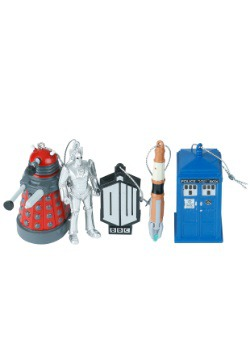 Doctor Who 5pc Ornament Set