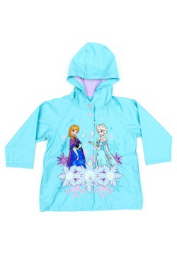 Frozen Sisterhood Rain Coat