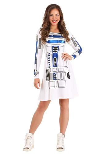 I am R2D2 Juniors Skater Dress