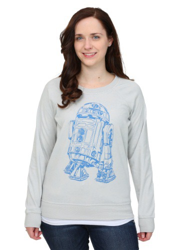 R2D2 Rebel Reversible Womens Sweatshirt
