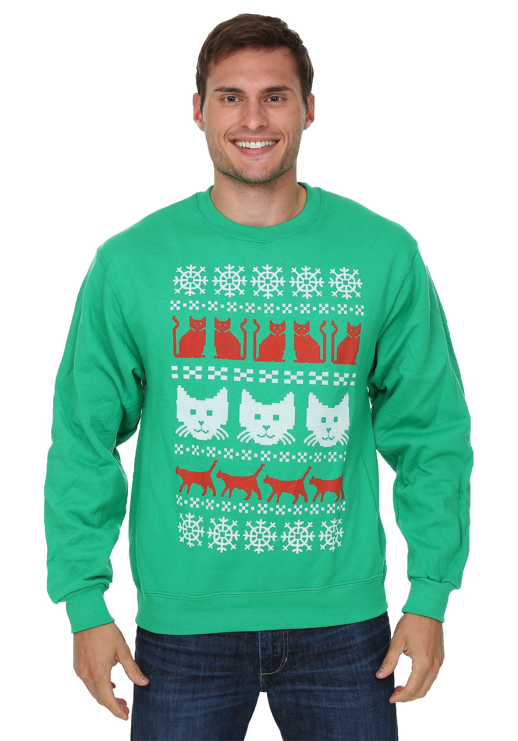 Male christmas sweaters