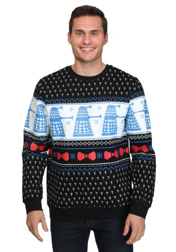 Dr Who Daleks Ugly Christmas Sweater