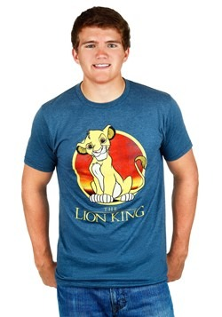 Mens Lion King Simba Circle T-Shirt update