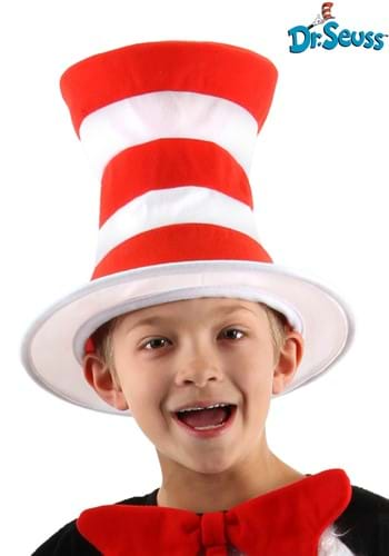Striped Cat in the Hat Kids Hat