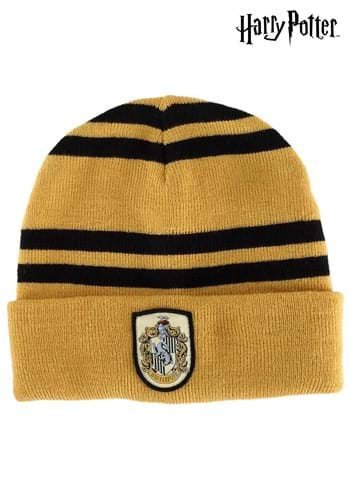 Knitted Hufflepuff Hat