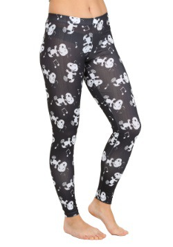 Peanuts Snoopy Boogie All Over Juniors Leggings