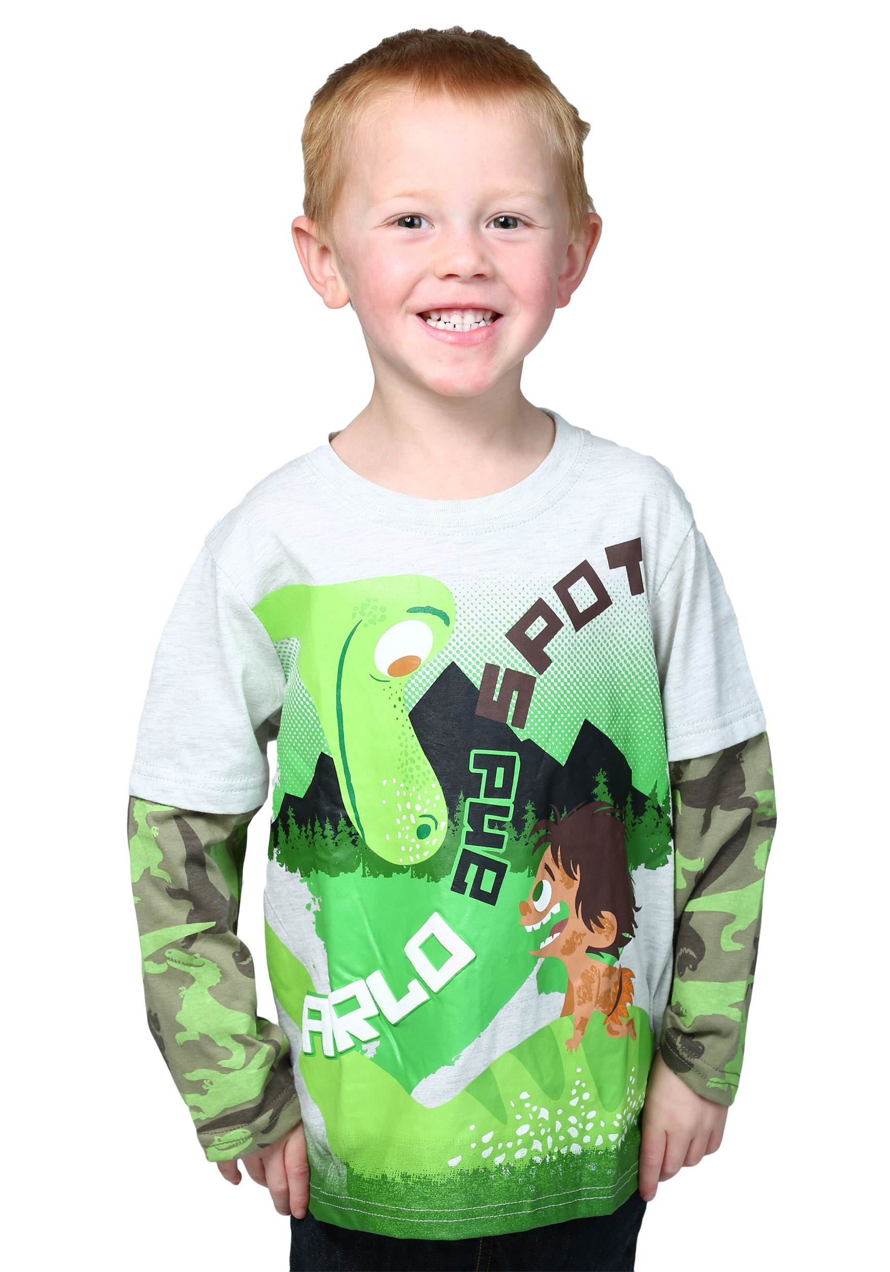 Good Dinosaur Arlo and Spot Boys Knit Pullover CAPXPU8855FSTK