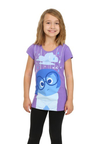 Girls Inside Out Sadness Raining Shirt CAPXPB9600FSTK