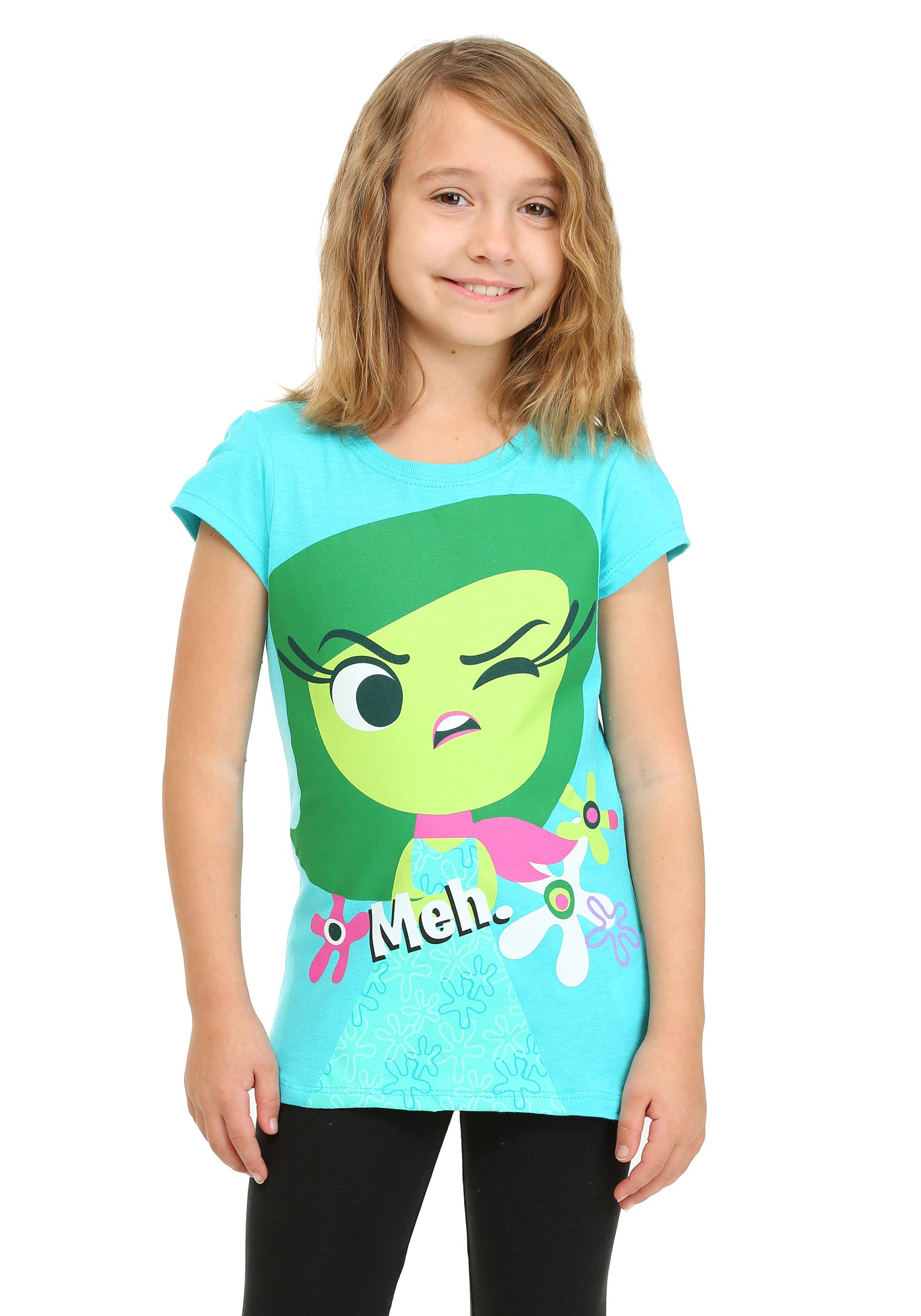 Girls Inside Out Disgust Meh Shirt CAPXPB9610FSTK