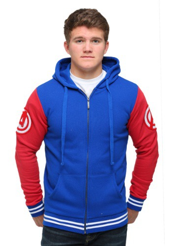 Captain America Varsity Hooded Sweatshirt