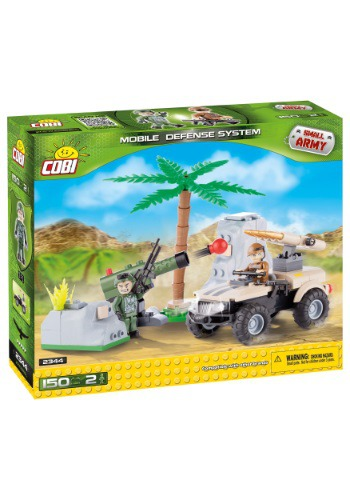 Army Mobile Defense System Construction Set