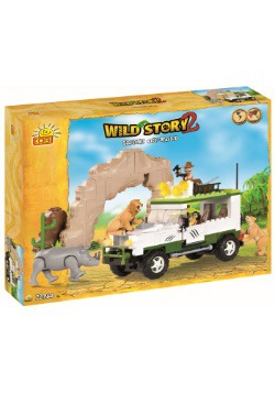 Off Road Safari Construction Set