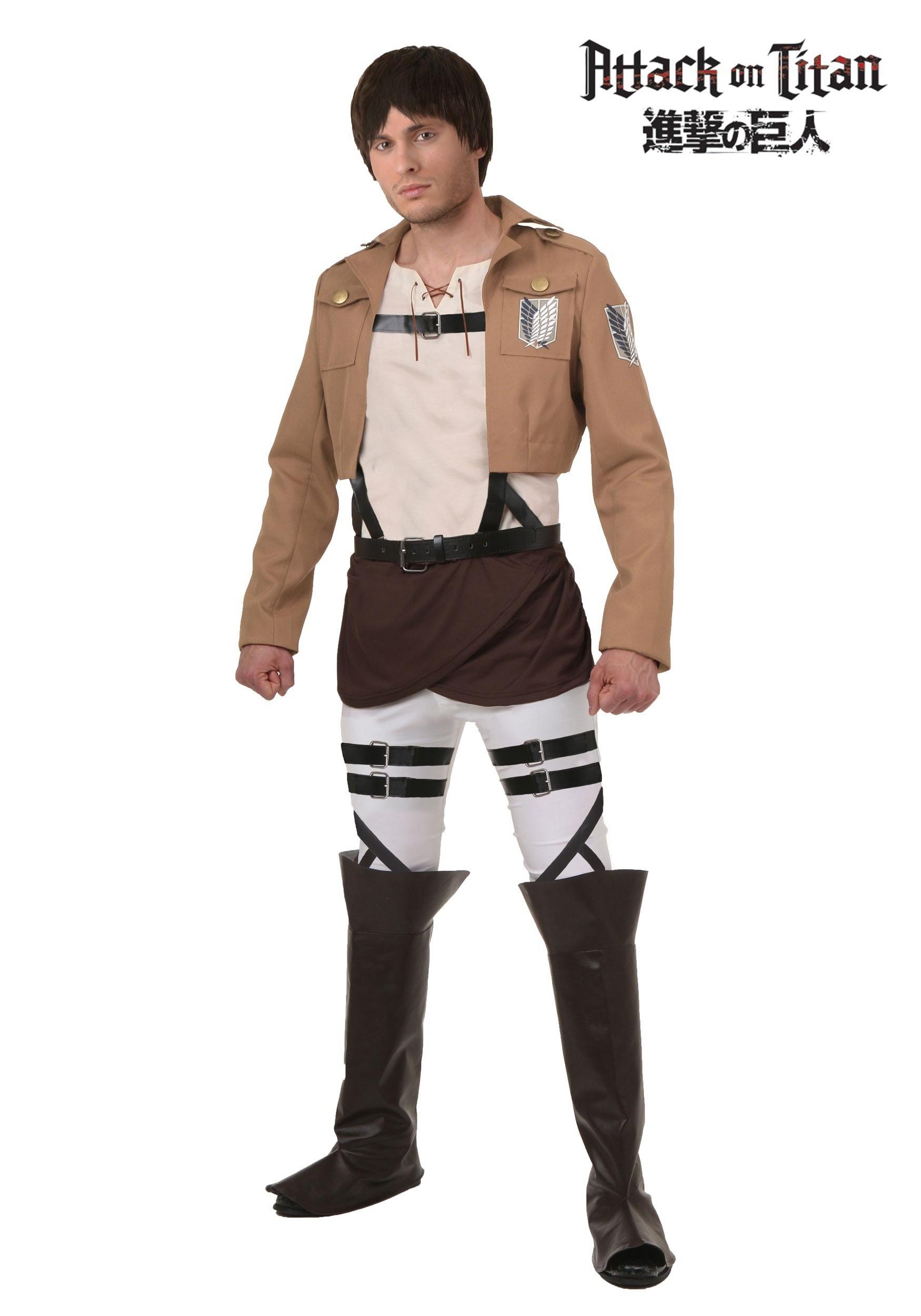 Attack on Titan Eren Costume FUN2269AD