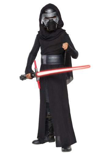 Child Deluxe Star Wars Episode 7 Kylo Ren Villain Costume