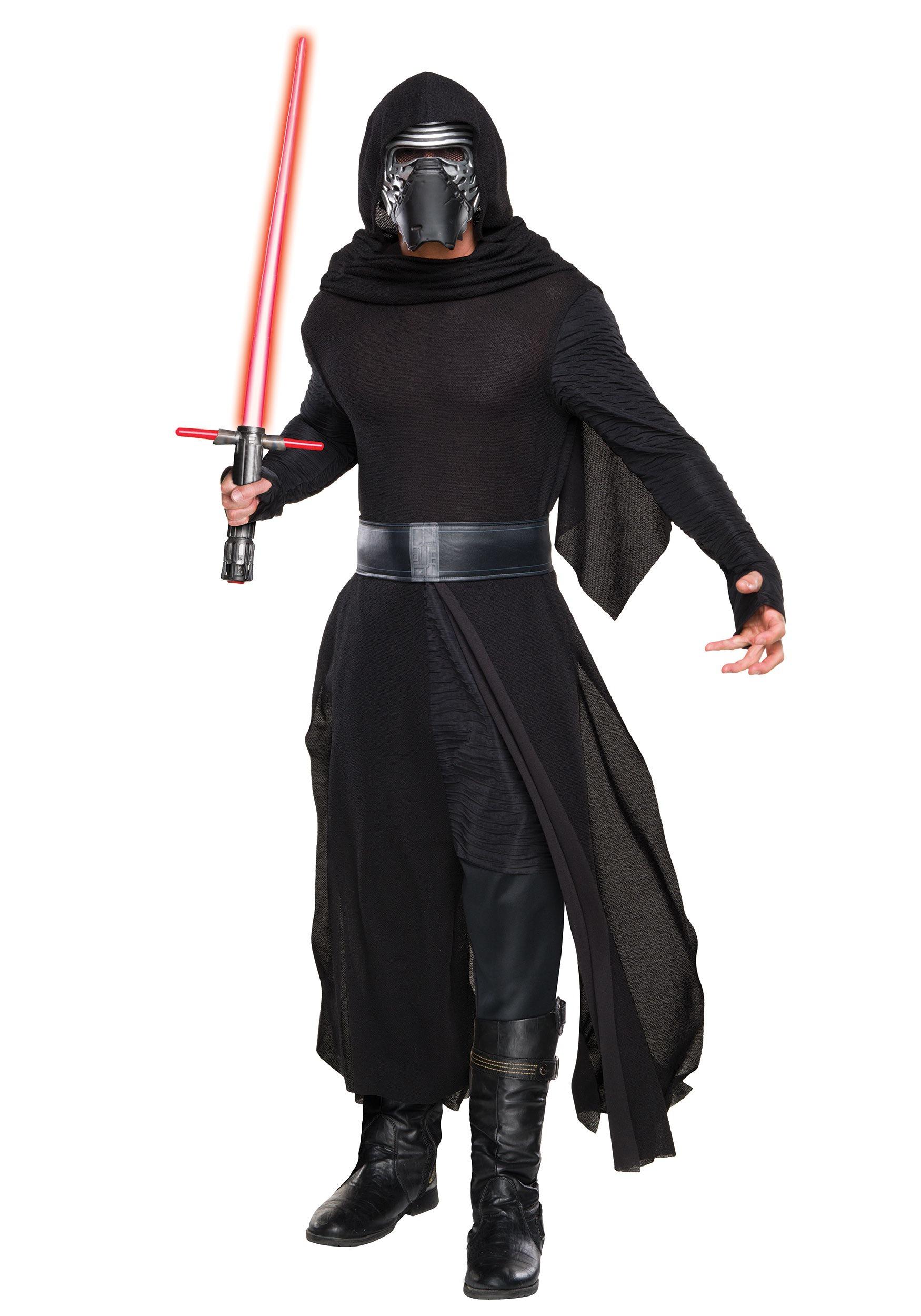 Deluxe Star Wars The Force Awakens Kylo Ren Men's Costume RU810669