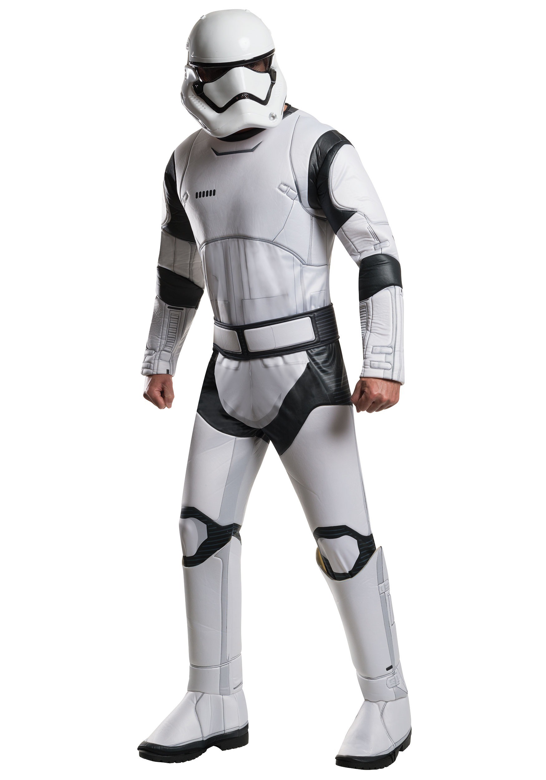 deluxe star wars the force awakens stormtrooper costume for men