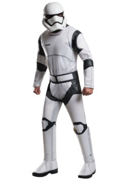 Deluxe Star Wars The Force Awakens Stormtrooper Mens Costume