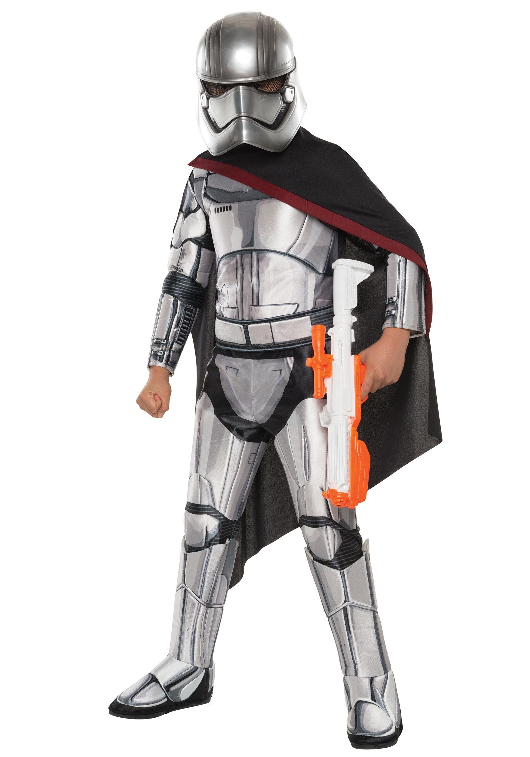 Child Deluxe Star Wars Captain Phasma Costume