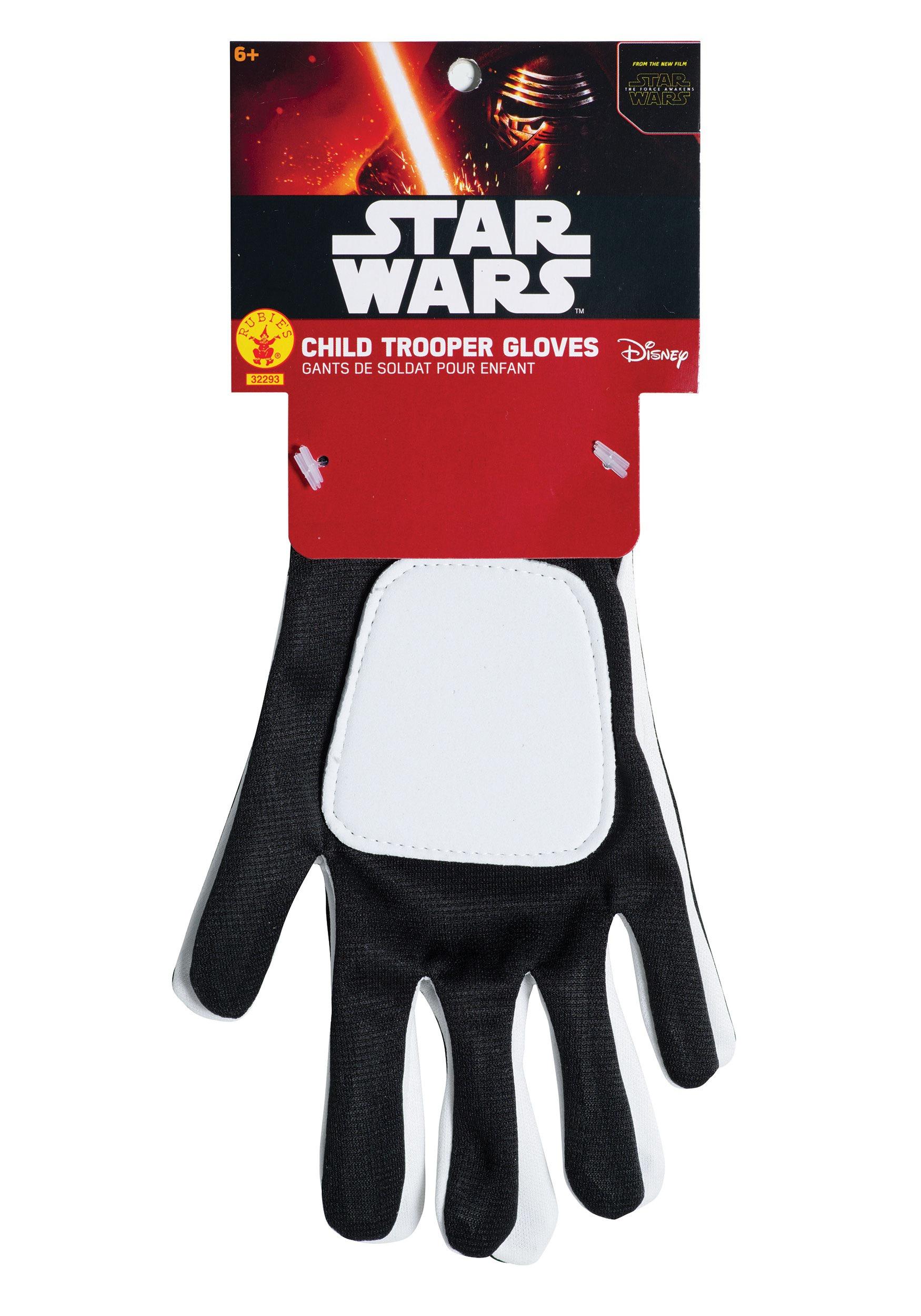 Kids Star Wars Ep. 7 Flametrooper Gloves RU32293