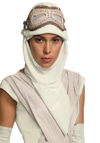 Adult Star Wars Episode 7 Rey Eye Mask w/Hood