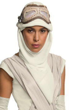 Adult Star Wars Episode 7 Rey Eye Mask w/Hood