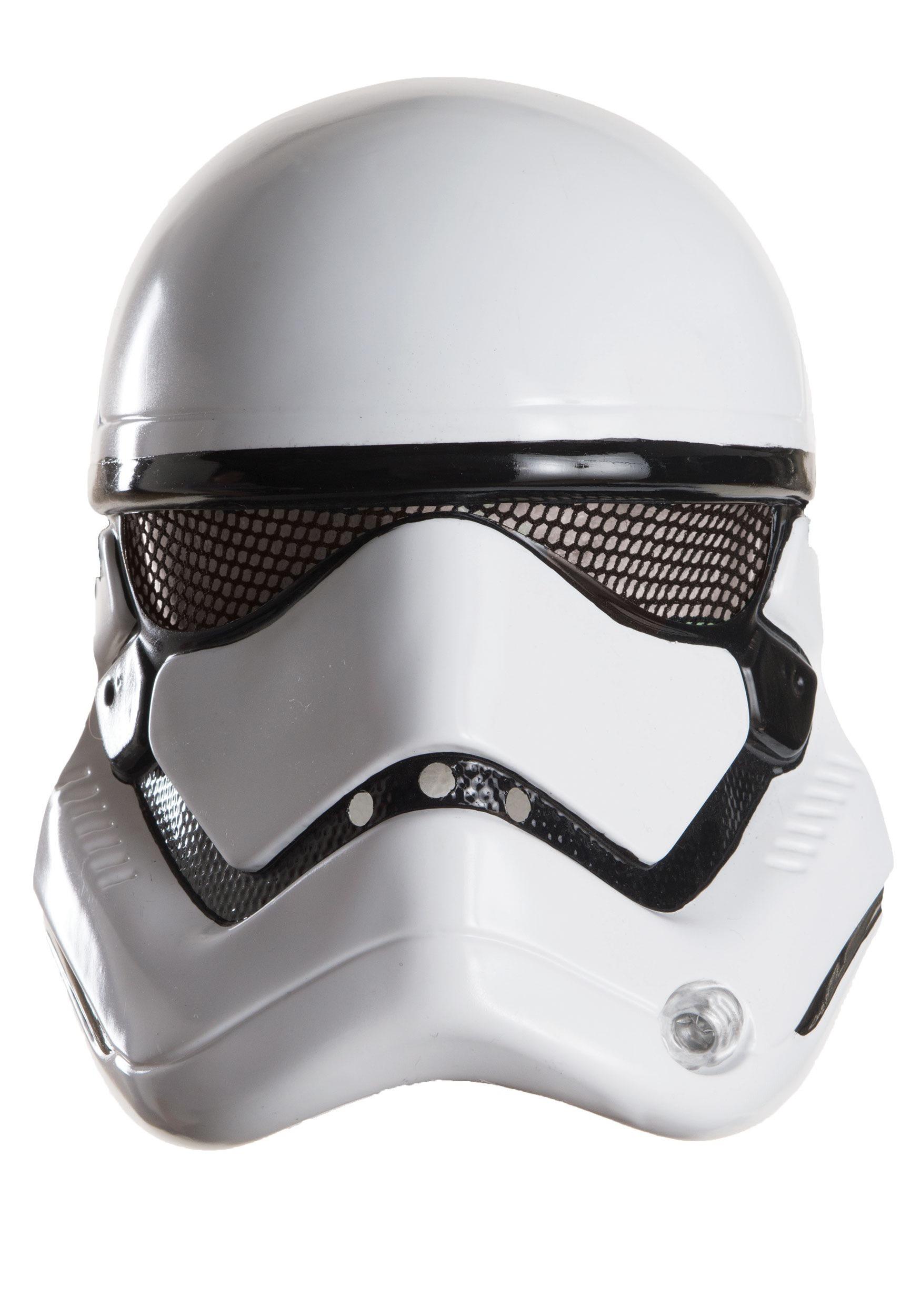 Adult star wars ep 7 stormtrooper 1 2 helmet
