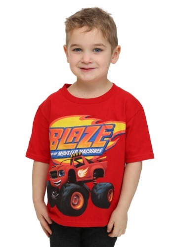 Blaze Monster Truck Boys T-Shirt