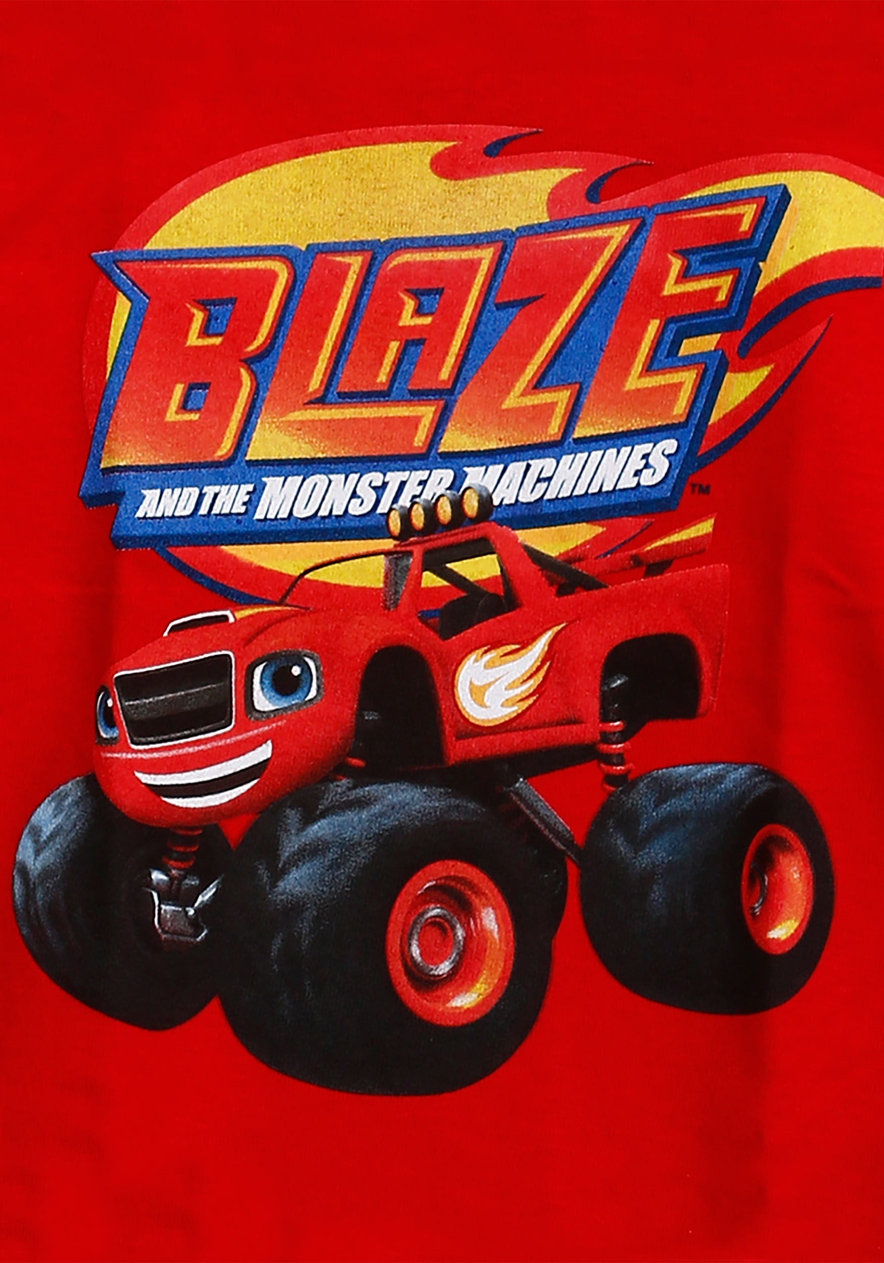 Monster Trucks For Sale >> Boys Blaze Monster Truck T-Shirt