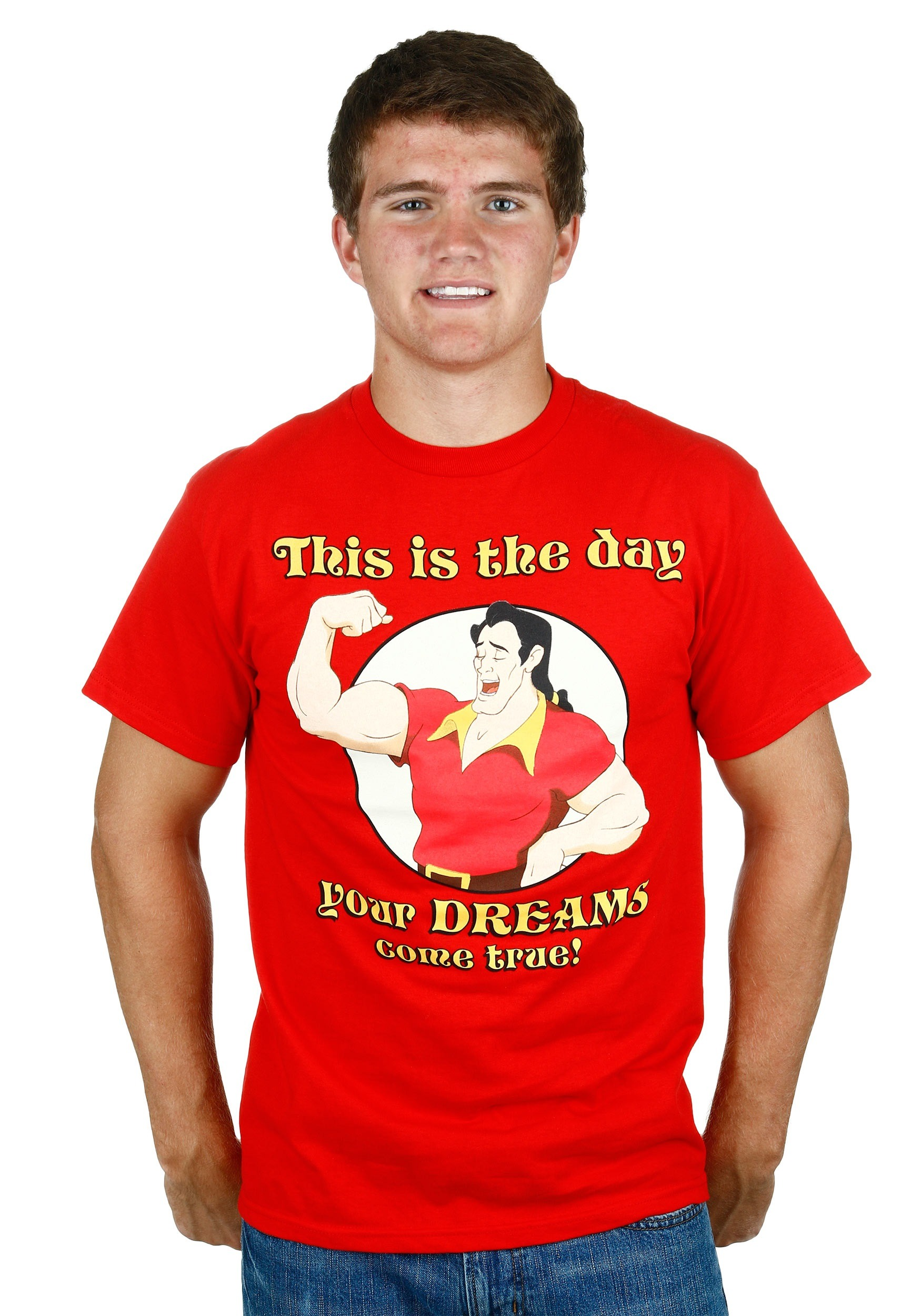 Beauty And The Beast Gaston Dreams Come True T Shirt