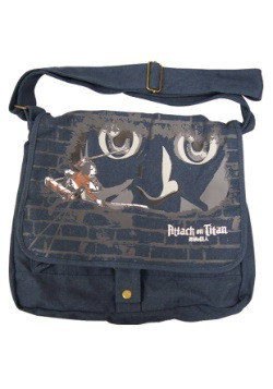 Attack on Titan Eren and Titan Messenger Bag