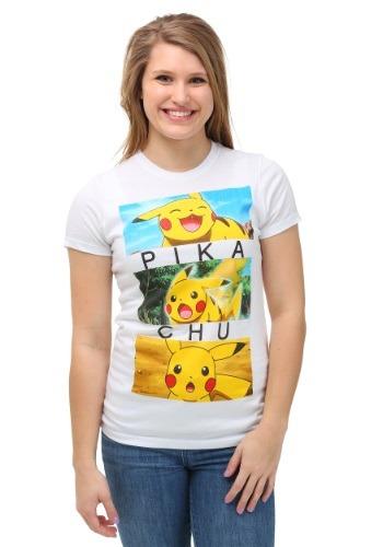Pokemon Pikachu Emotion Boxes Juniors T-Shirt