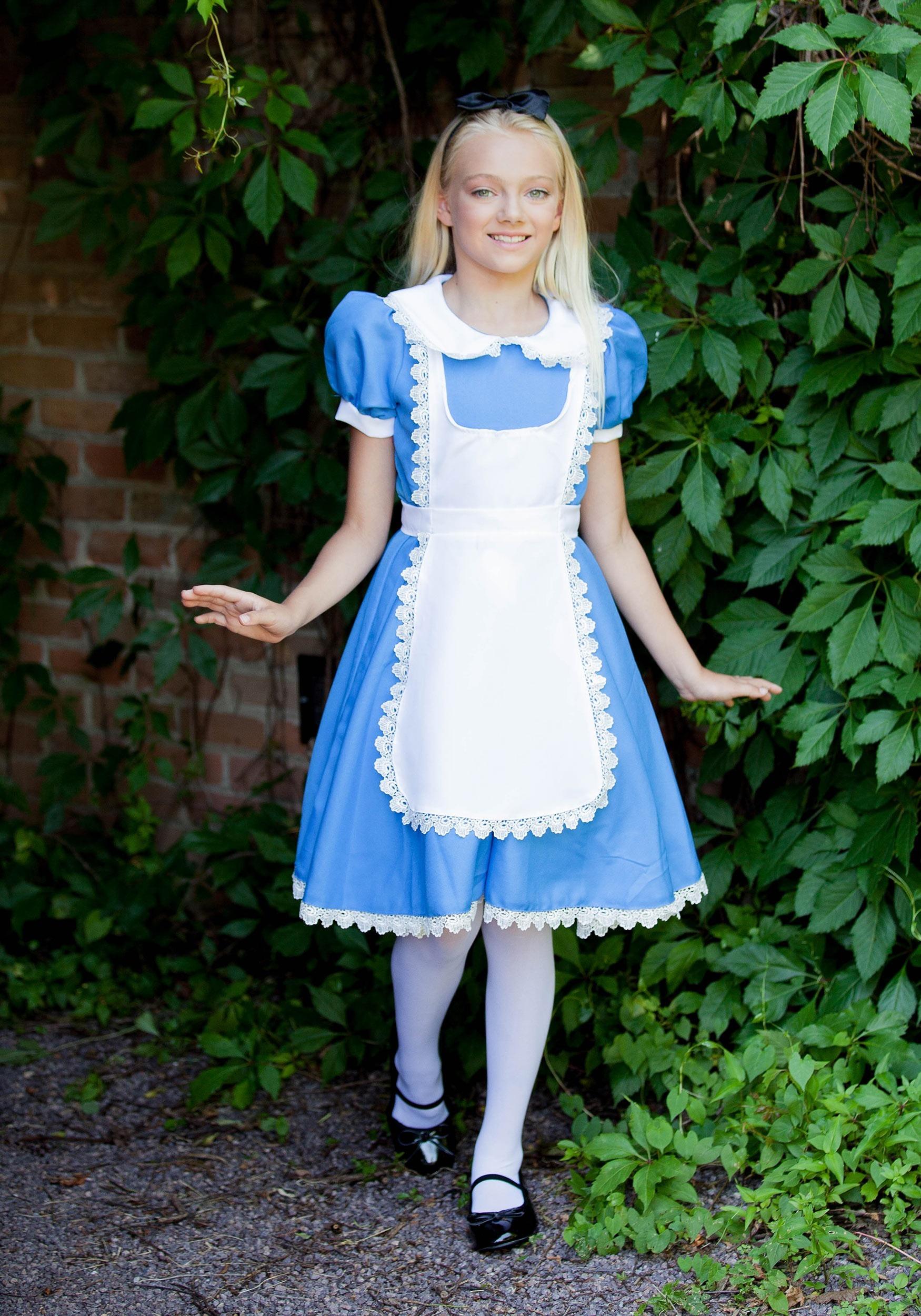 Supreme Alice Costume For Girls-2732