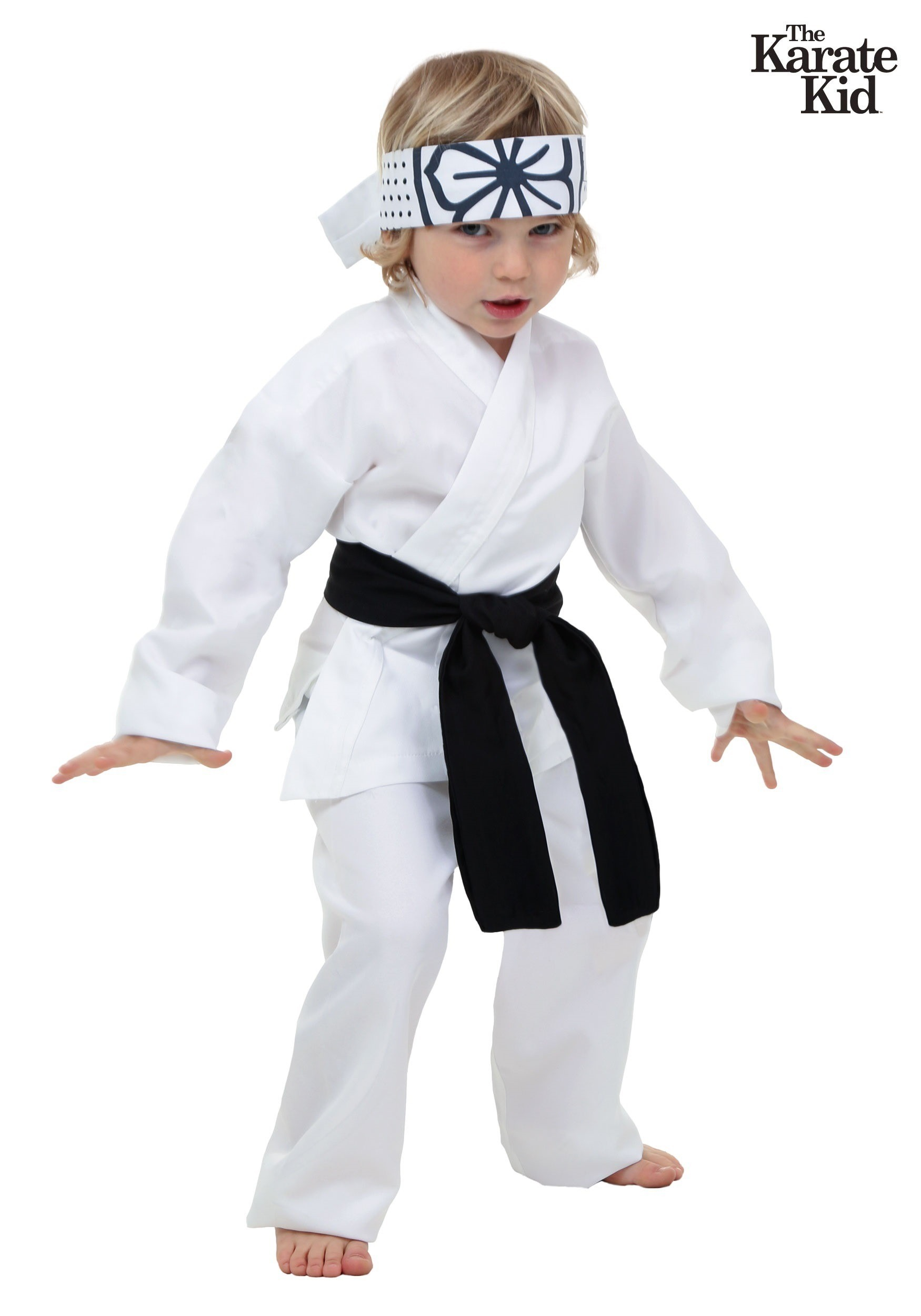 sc 1 st  Fun.com & Toddler Karate Kid Daniel San Costume