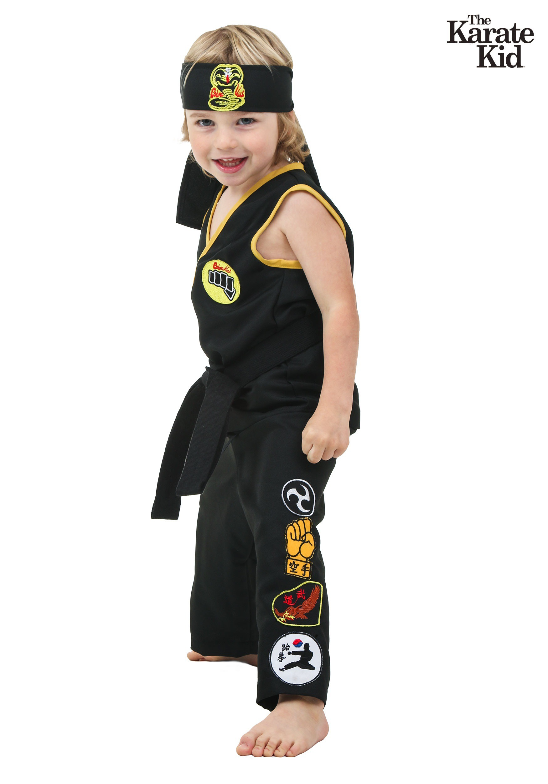 Toddler Cobra Kai Costume From The Karate Kid