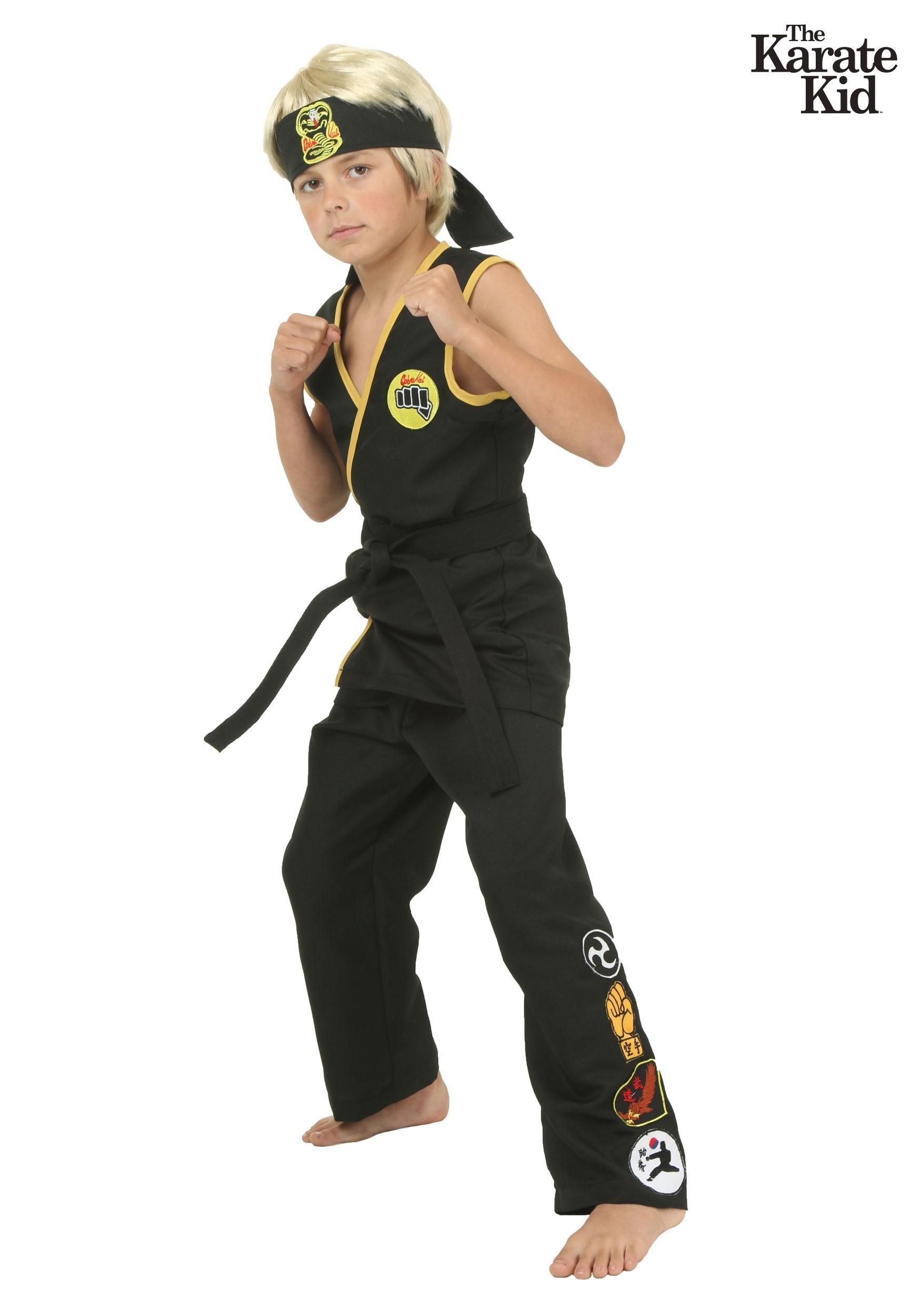 How To Make A Karate Kid Costume