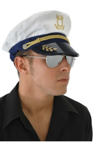 Mens Sea Captain Hat