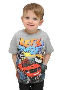 Toddler Blaze And The Monster Trucks Lets Blaze T-Shirt