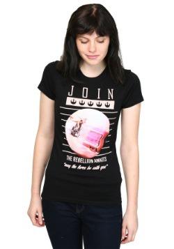 Star Wars Join The Rebellion Juniors T-Shirt