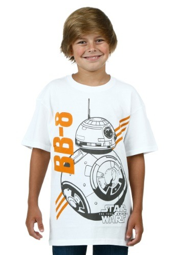 Boys Star Wars 7 BB-8 Sketch T-Shirt