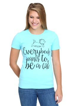 Aristocats Everybody Wants Juniors T-Shirt