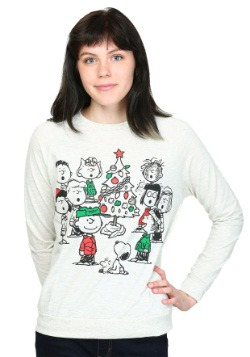 Peanuts Christmas Gang French Terry Pullover