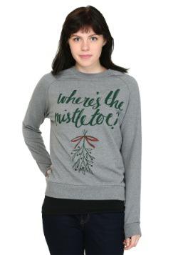 Wheres The Mistletoe French Terry Pullover Juniors  sc 1 st  Fun.com & Gretel Child Costume
